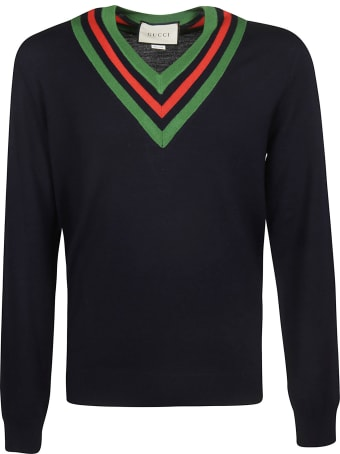 Gucci V-neck Sweater
