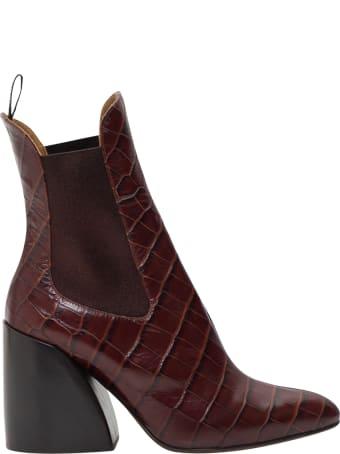 Chloé Wave Chelsea Ankle Boots