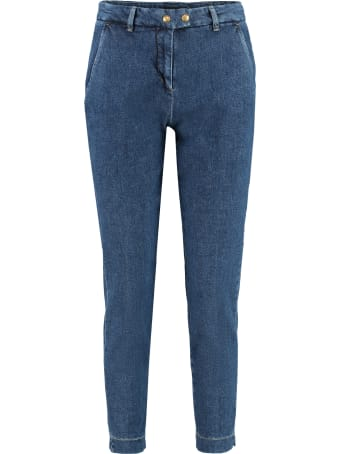 Pinko Regular-fit Cropped Jeans