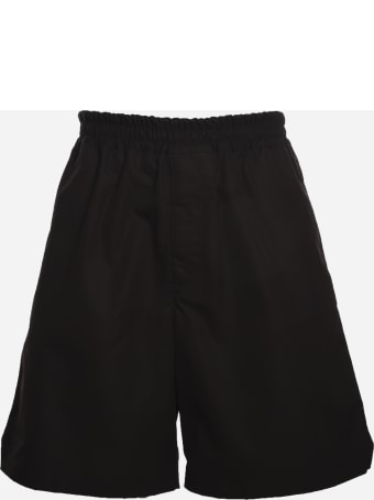 Bottega Veneta Pull-on Shorts Made Of Cotton