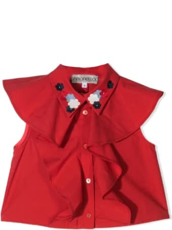 Simonetta Shirt With Ruffles