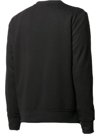 Neil Barrett Black Cotton-blend Sweatshirt