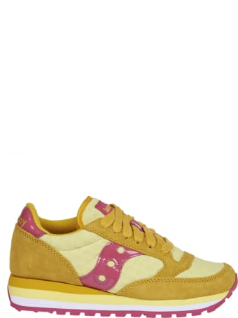 Saucony Yellow And Pink Sneakers Jazz