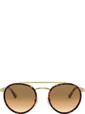 Persol Persol Po2467s Gold / Havana Sunglasses
