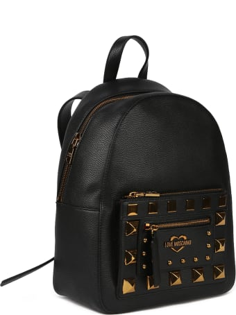 Love Moschino Backpack With Studs Detail