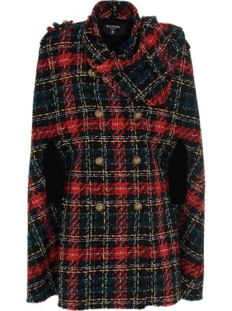 Balmain Cape Coat