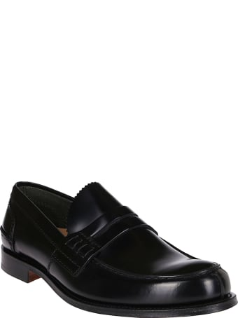 Church's Black Leather Loafers