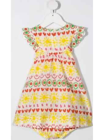 Stella McCartney Kids Girl Happy Stripes Jersey Dress