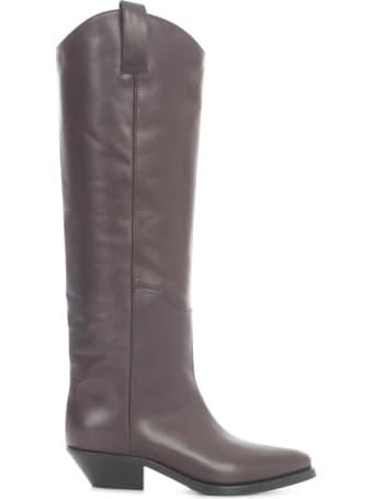 Parosh High Leather Camperos