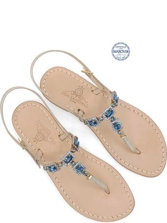 Dea Sandals Villa Orlandi Jewel Thong Sandals