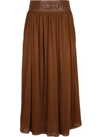 Ralph Lauren Black Label Damien Full Skirt