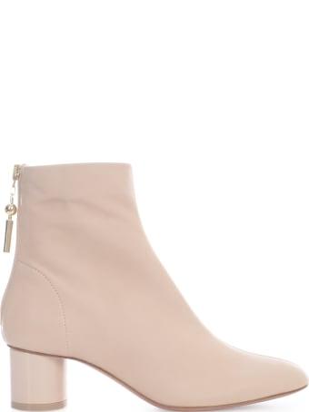 Anna Baiguera Ankle Boots Round Heel 5 Cm
