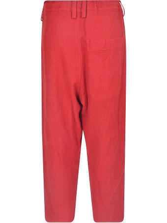 Y's Wide-leg Cropped Trousers