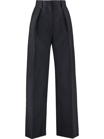 Jacquemus High-waist Wide-leg Trousers