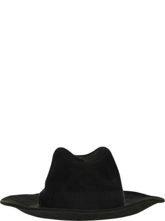 Borsalino Leather Hat