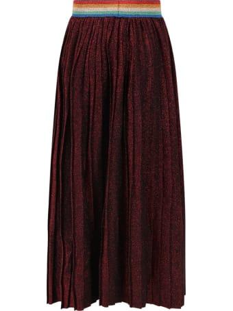 Sonia Rykiel Red Skirt For Girl