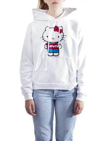 Levi's Levis X Hello Kitty Cotton Sweatshirt