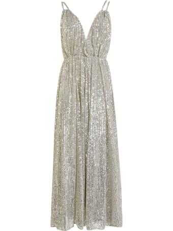 Amen Paillettes Long Dress