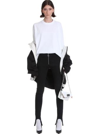 Lourdes Leggins In Black Cotton