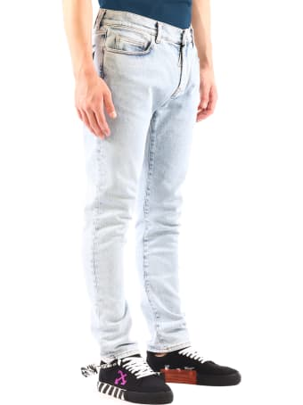 Off-White Diagonals Skinny Jeans