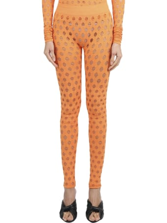 Maisie Wilen Orange Leggings