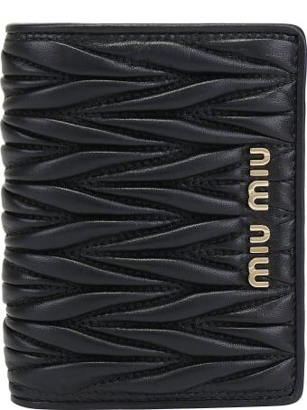 Miu Miu Vertical Wallet