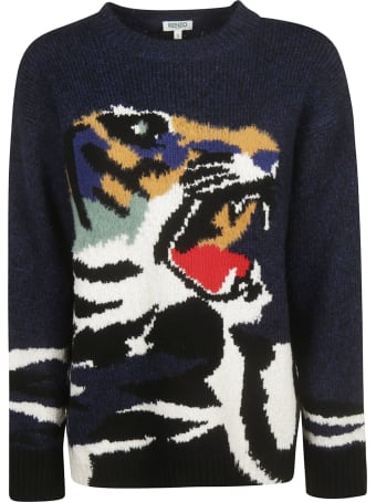 Kenzo Tiger Knit Pullover