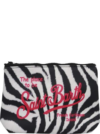 MC2 Saint Barth Aline Wild Zebra 0125 Pocket Square
