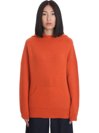 La Ploubel Knitwear In Orange Cashmere