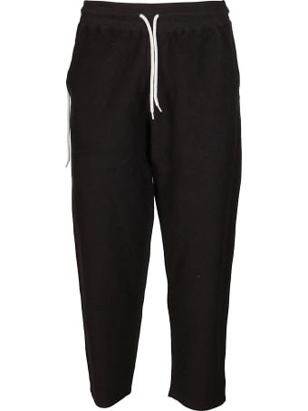 Craig Green Black Cotton Blend Track Pants
