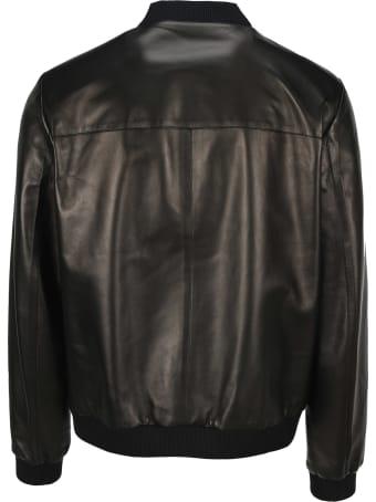 Prada Reversible Leather Bomber Jacket