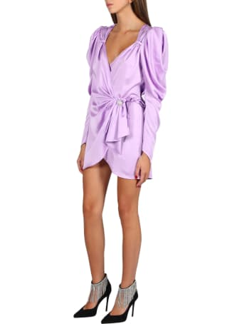 Nineminutes Short Dress With Puff Shoulders