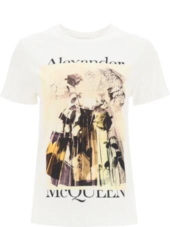 Alexander McQueen Trompe L'oeil Print T-shirt