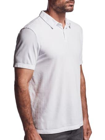 James Perse Polo Shirt White
