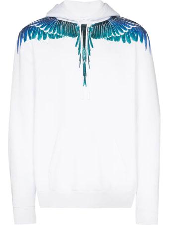 Marcelo Burlon Hoodie Wings White