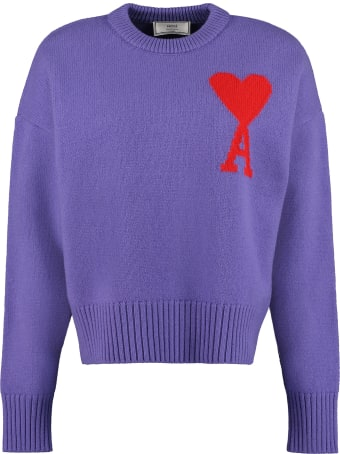 Ami Alexandre Mattiussi Virgin Wool Sweater