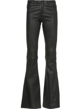 Alice + Olivia Leather Trousers