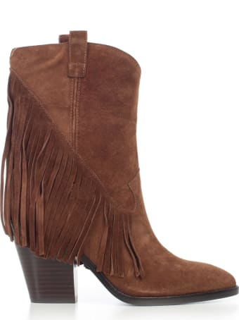 Ash Camperos Chamois W/fringes