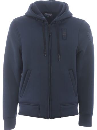 Blauer Fleece