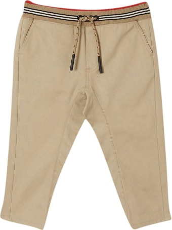 Burberry Beige Trousers