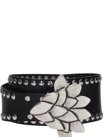 Isabel Marant Lowi Belts In Black Leather