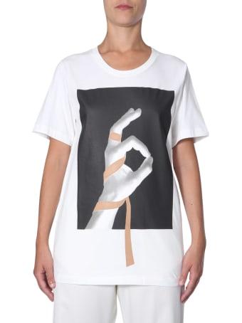 MM6 Maison Margiela Round Neck T-shirt