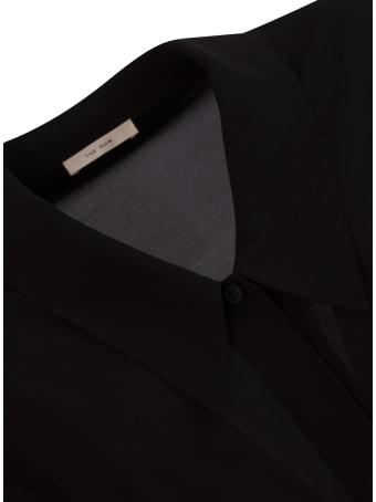 The Row Fabio Shirt In Silk