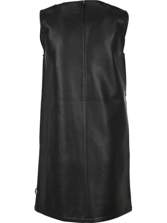 Stussy Faux Leather Mini Dress