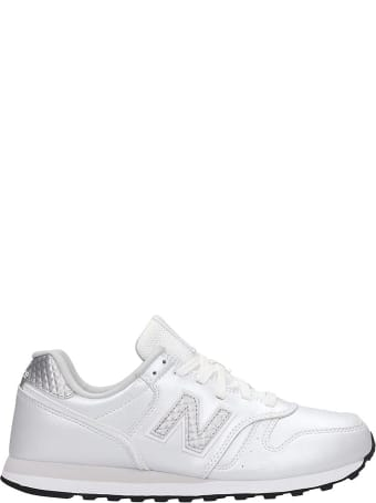 New Balance 373 Sneakers In Silver Leather