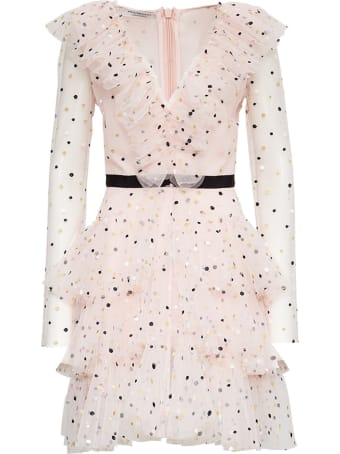 Philosophy di Lorenzo Serafini Grace Dress In Polka Dot Tulle