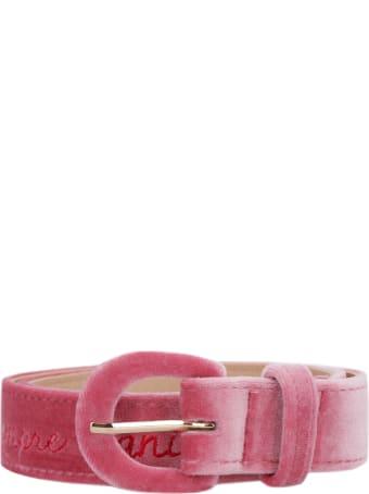 Giada Benincasa Velvet Belt