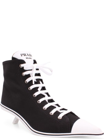 Prada 'synthesis' Fabric Sneakers