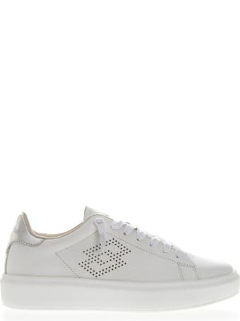 Lotto Leggenda Impression Lth White Leather Sneaker
