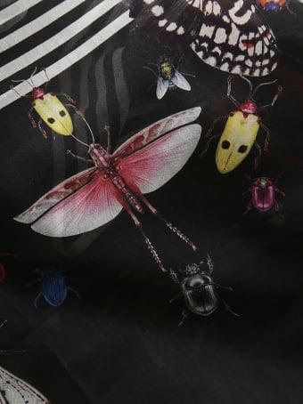 Alexander McQueen Bugs Scarf